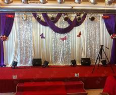 3m 6m purple swags sale lilac wedding backdrop stage curtains wedding decoration in event