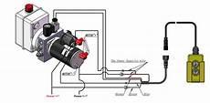 hydraulic pump wiring diagram how to wire hydraulic power power unit diagram design