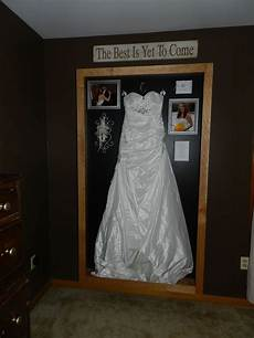 my wedding dress shadow box this is my anniversary gift