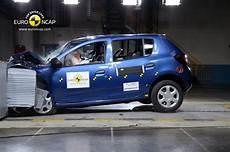 Crash Test Dacia Sandero