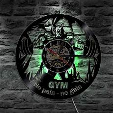 1piece gym no no gain led wall sign lighting vinyl