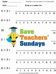 number line division ks1 worksheets lesson plans and other teaching resources by