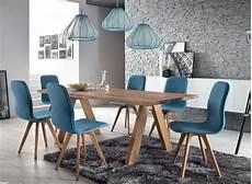 stuhl modern schalenstuhl stuhl esszimmer modern blau eiche massiv