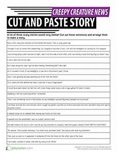 cut and paste sequencing story events projects to try