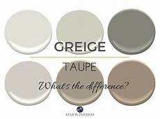the difference between greige and taupe paint colours mixes of beige and gray undertones and