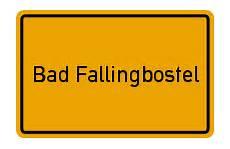 Stadtplan Bad Fallingbostel Karte Bad Fallingbostel