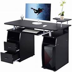 walmart home office furniture ktaxon black home office computer pc desk table work