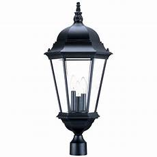 acclaim lighting richmond 3 light matte black outdoor light fixture 5208bk the home