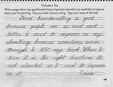 second grade handwriting writing