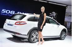 voiture hybride peugeot peugeot 508 rxh crossover 2012 frankfurt 2011 car
