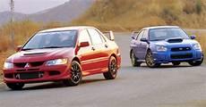 Subaru Or Evo mitsubishi evo vs subaru impreza which wins your