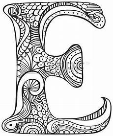 alphabet mandalas coloring pages 17864 stock photo letras para imprimir hojas para colorear y dibujando letras
