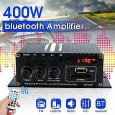 220v 400w Bluetooth Power Lifier Audio by 220v 400w Mini Bluetooth Power Lifier Stereo Hifi Audio
