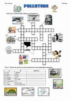 pollution worksheets for elementary students pollution esl worksheet by mouka