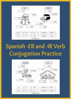 worksheets for verb conjugation 18591 verb practice for cut and paste pages playground