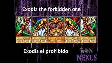 yu gi oh nexus exodia el prohibido deck especial para