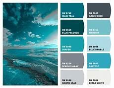 ocean teals paint color ideas paint colors color
