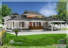 kerala house photos with plans kerala traditional 3 bedroom house plan with courtyard and