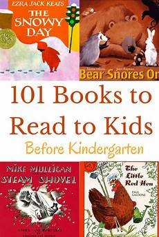 101 books every child needs to hear before kindergarten kindergarten books toddler books