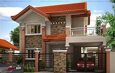 low cost simple two storey house design philippines a two storey house plan is a low cost to build than a one