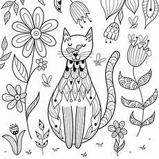 free cat coloring pages purr fect printable coloring