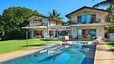 wailea beach front house maui hawaii vacation rental youtube