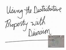 div property showme distributive property division 5th grade