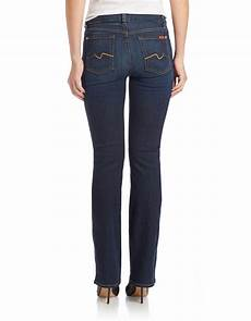 7 for all mankind kimmie bootcut in blue lyst