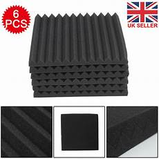 6pcs Acoustic Panels Tiles Studio Soundproofing by New 6pcs Acoustic Panels Tiles Studio Sound Proofing