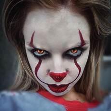 maquillage facile qui fait peur maquillage clown nez humour noir