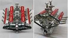 V8 Motor Bausatz Benzin - v8 bausatz montagefertig zum selber bauen
