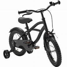 14 zoll fahrrad schwarz matt kinderfahrrad st 252 tzr 228 der