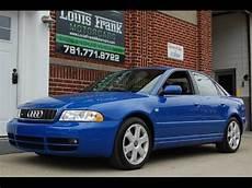 2001 audi s4 b5 rare nogaro blue 6 speed walk around presentation at louis frank motorcars llc