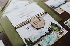 Lake Tahoe Wedding Invitations