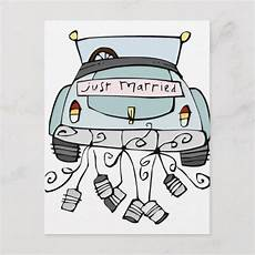 just married car drawing at paintingvalley explore