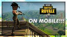Malvorlagen Fortnite Battle Royale Fortnite Battle Royale Now On Mobile App