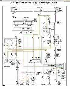 2004 subaru forester wiring diagram 2002 subaru forester all 4 parking lights stay on even with key