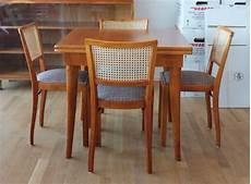esstisch mit 4 stühlen esstisch ausziehbar mit 4 st 252 hlen oldthing bauhaus