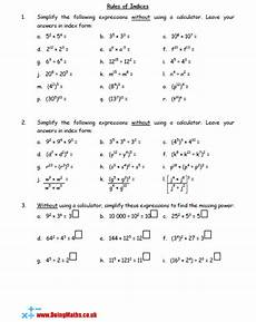 notation powers free worksheets powerpoints and other resources for gcse doingmaths