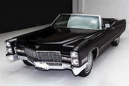 1968 Cadillac DeVille Triple Black 472  American Dream