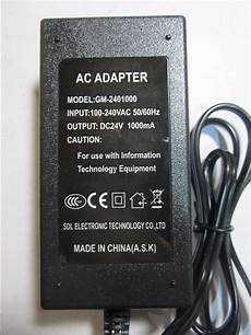 24v ac adapter power supply for logitech gt driving force pro steering wheel ebay