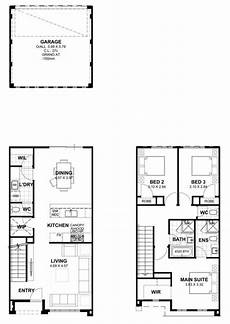 wide frontage house plans 6m wide two storey house designs house designs perth