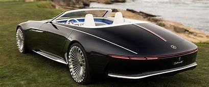Mercedes Maybach Reveals New Futuristic Convertible