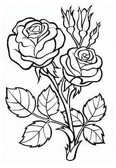 details about two roses outline flowers wall stickers