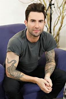adam levine s shoulder tattoo looks like a vegetable in