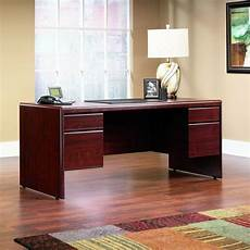 amazon home office furniture amazon com sauder cornerstone executive desk classic