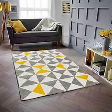 teppich gelb grau norden home teppich corbett in schwarz grau gelb