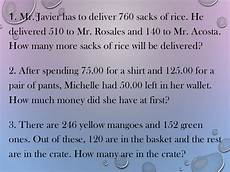 problem solving involving addition and subtraction worksheets for grade 3 10579 7 solving two step word problems involving addition and subtraction