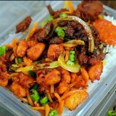 Nasi Ayam Goreng Kunyit Food Drinks Instant Food On