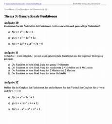 gtr grafikrechner bedienung ganzrationale funktionen